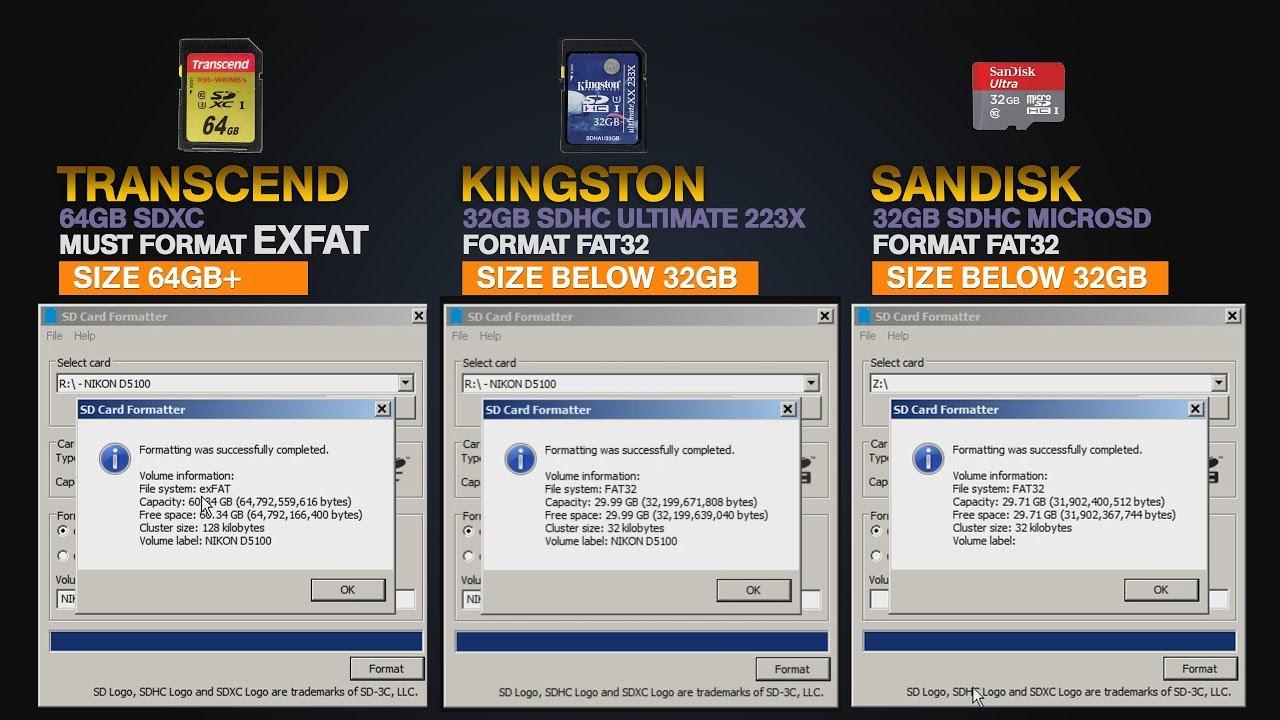 GRATUITEMENT TÉLÉCHARGER FOR SD/SDHC/SDXC SD FORMATTER 4.0