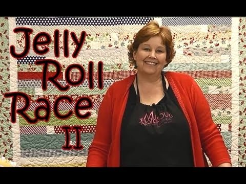 Jelly Roll Race 2 - YouTube : youtube quilting jelly rolls - Adamdwight.com