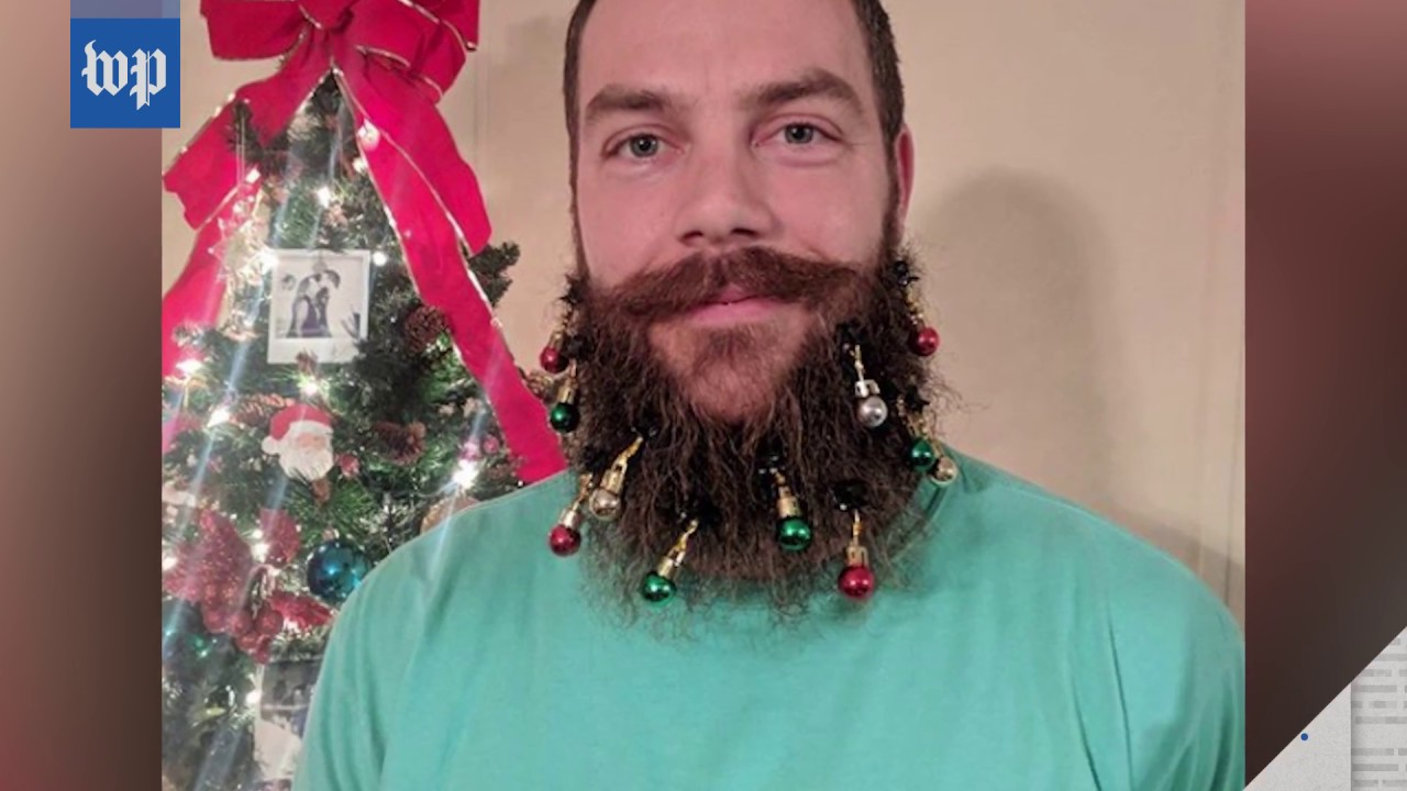 christmas beard ornaments according to the internet - Christmas Beard