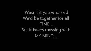MARY J BLIGE - FEEL INSIDE (FT.NAS) **(LYRICS ON SCREEN)**