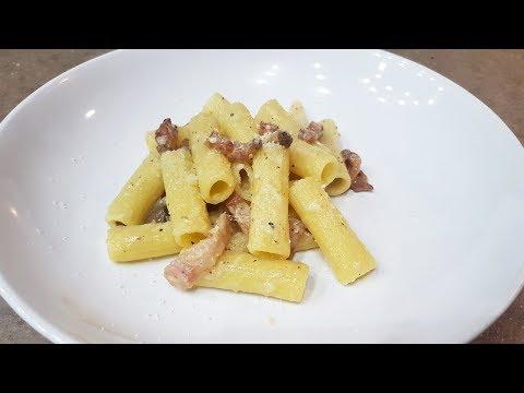 pasta-alla-gricia-in-1-minuto-|-ricette-veloci-|-foodvlogger