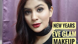 New Year's Eve Party GLAM Makeup Tutorial | Shanice Shrestha