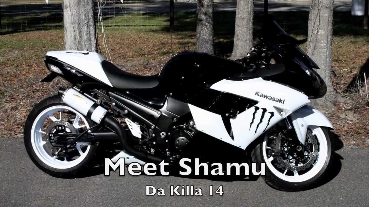 Camaro Girl Wallpaper Custom Kawasaki Zx 14 Quot Shamu Quot Youtube