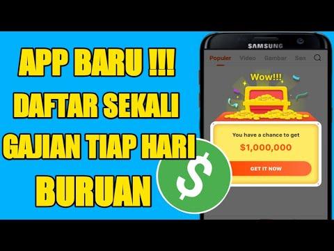 SIKAT !!! 280 JUTA GRATIS HANYA MODAL 1 APLIKASI - Aplikasi Terbaru penghasil Uang Gratis Terlegit