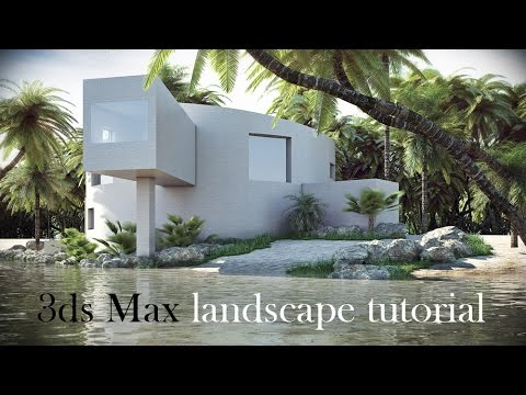 3ds Max landscape tutorial (Time Lapse version)