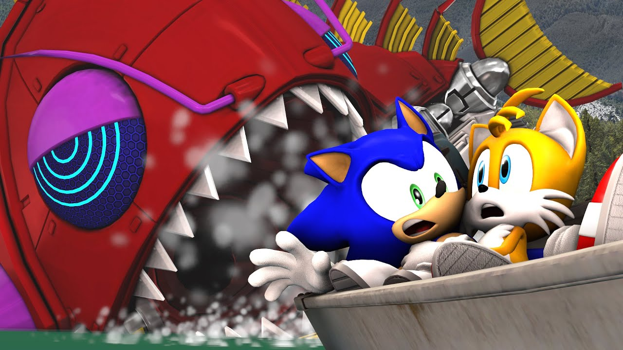 Image result for sonic in camping chaos