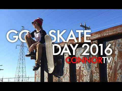 Veja o video -GO SKATEBOARDING DAY 2016 – NIKE SB SKATE CONNOR TV