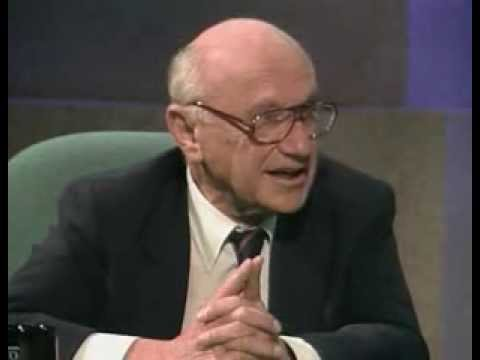 Wirtschaftspolitische Diskussion zwischen Friedman und Bowles