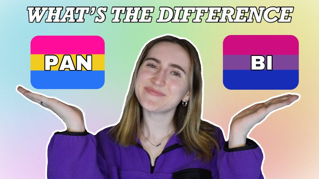 between and pansexual difference bisexual The