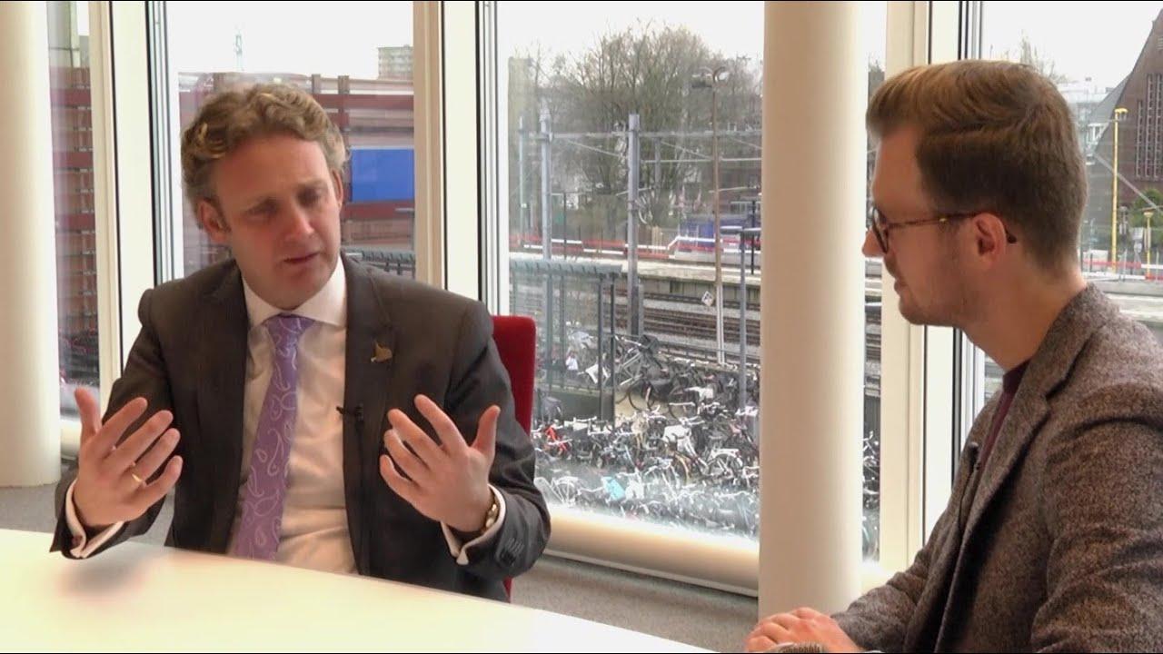 In gesprek met de nieuwe burgemeester