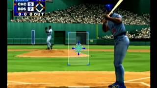 World Series Baseball 2K1 Cubs vs Red Sox Dreamcast Part 2