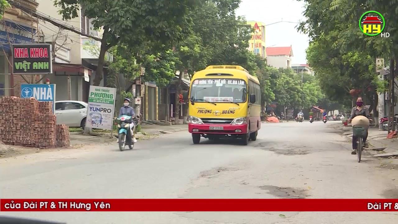 Hưng Yên hạn chế phương tiện vận tải khách để phòng dịch Covid – 19