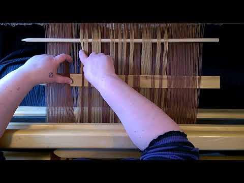 How to weave double weave - Täkänä
