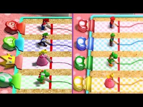 Mario Party 4 Vs. Mario Party: The Top 100 - Minigame Comparison