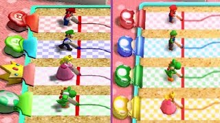Mario Party 4 Vs. Mario Party: The Top 100 - Minigame Comparison