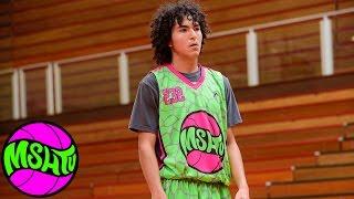 Sebastian Murillo BIG BLOCK at 2015 MSHTV Camp - Class of 2020 Basketball Prospect