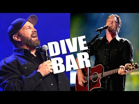 garth-brooks-and-blake-shelton's-'dive-bar'---a-summer-smash!