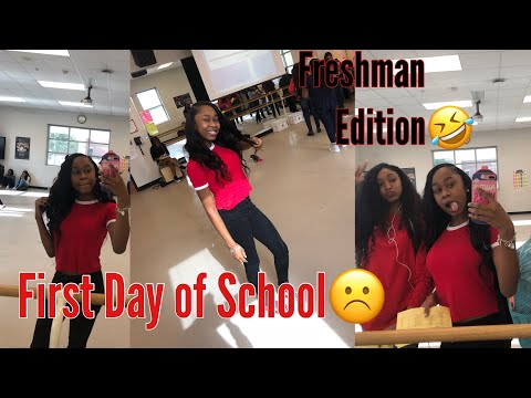 FIRST DAY OF SCHOOL VLOG (FRESHMAN EDITION )2018 ft. Cranberry Hair