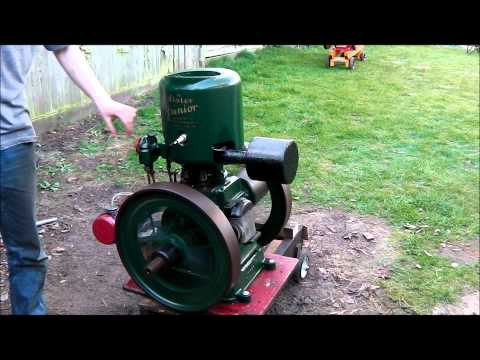 "1929 Lister A type ""junior"" - vintage stationary engine -"
