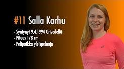 Pelaajakortti #11 Salla Karhu