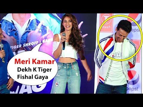 Girlfriend Disha patani Makes Fun Of Her Boyfriend Tiger Shroff Disha And Tiger Cute Moment