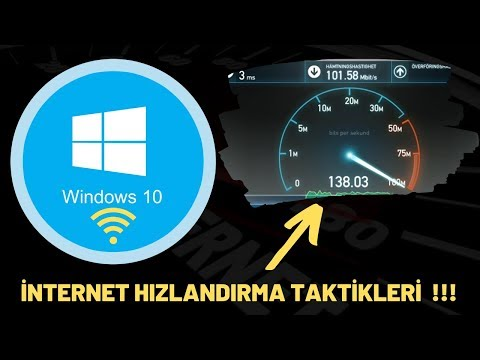 Programsız Internet Hızlandırma.Windows 10 2019