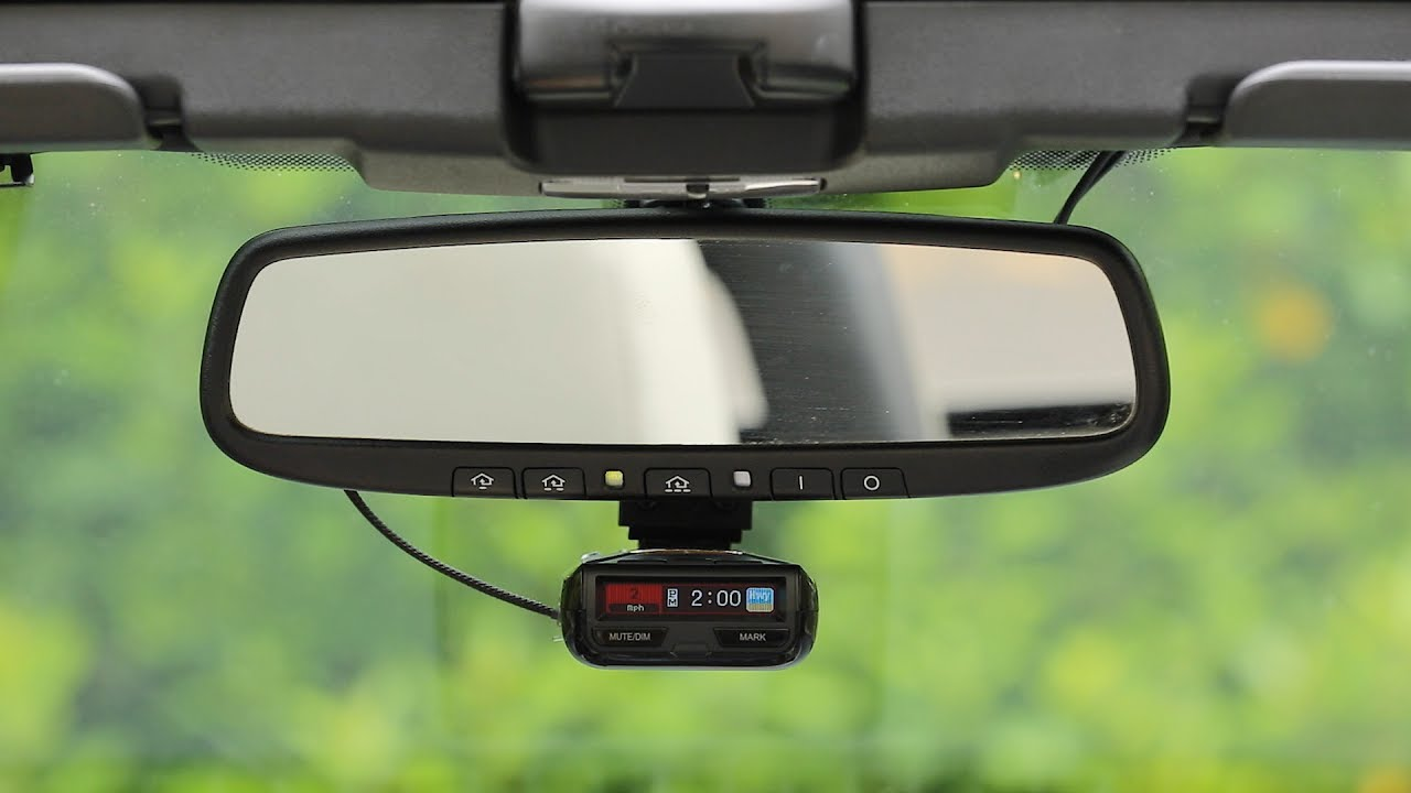 2016 Ford Mustang Rear View Mirror Radar Detector Wiring