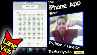 BUILD YOUR OWN WORD SEARCH: App 93: The iPhone App Show!