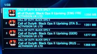 Comment télécharger les DLC d'un ami   ( BO2 PS3 )