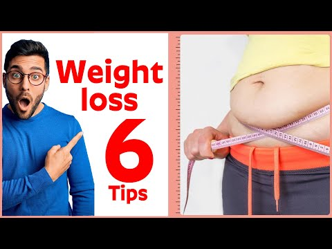 6 Simple and Effective Weight loss Tips - Health&Beauty
