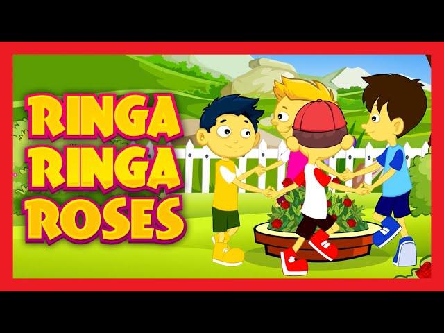 Ringa Ringa Roses Nursery Rhyme with Lyrics