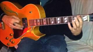 valse a django - gypsy jazz - waltz django - guitar lesson - first part