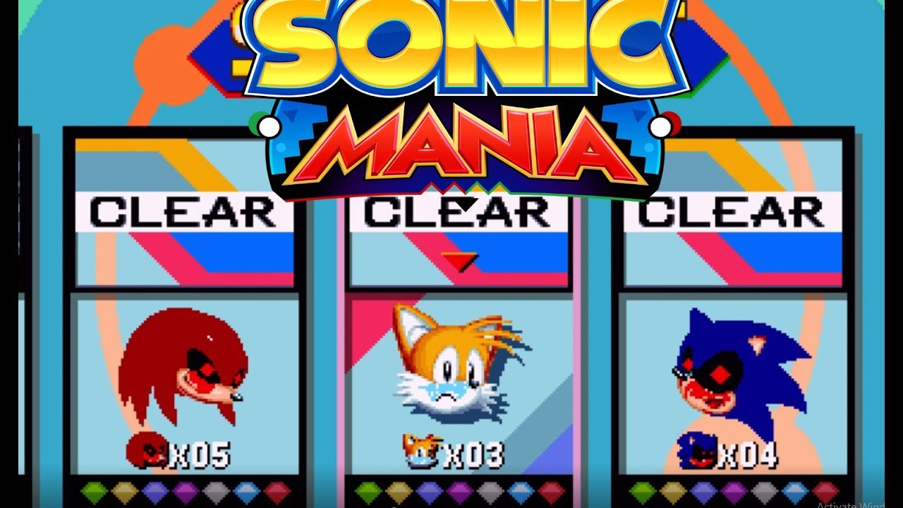Mania Mod - Sonic exe Nightmare beginning (outdated)