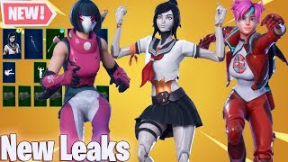 *NEW* All Leaked Fortnite Skins & Emotes And Free REWARDS ! ( Tsuki , Bachi , Mika ,Anarchy Agent )