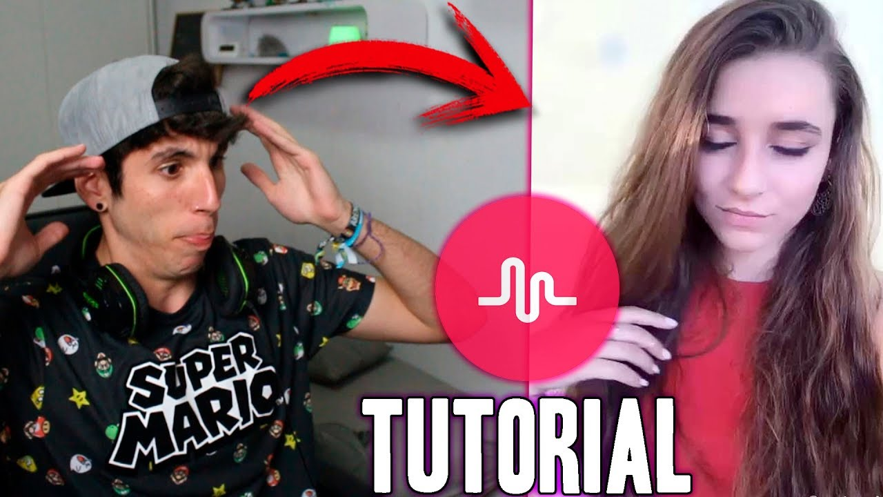 how to make a tutorial video on musically