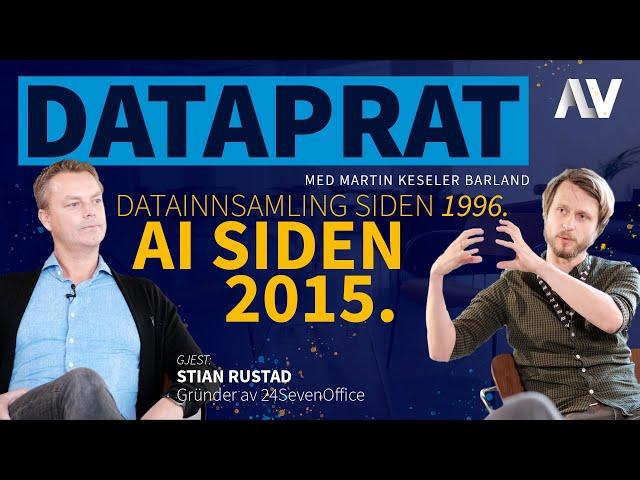 DataPrat |Datainnsamling siden 1996, AI siden 2015. [Bonus]