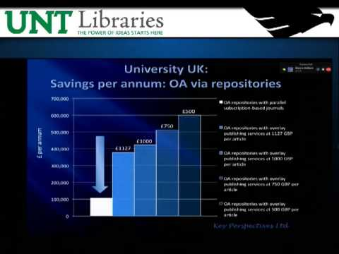 2011 UNT Open Access Symposium, Part 3