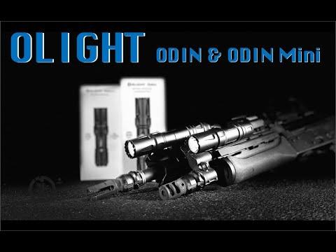 OLIGHT Odin And Odin Mini Comparison