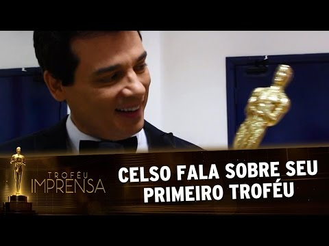 Troféu Imprensa 2017 - Celso agradece seu primeiro Troféu Imprensa