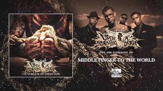 Upon A Burning Body - Middle Finger To The World