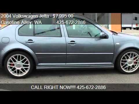 2004 Volkswagen Jetta GLI Turbo Manual for sale in Edmonds,
