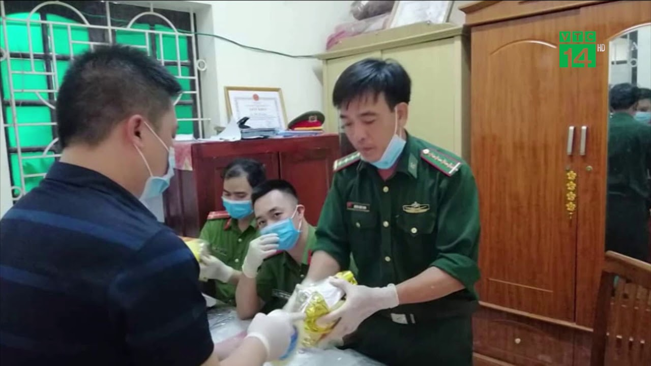 Nghệ An bắt 3 đối tượng vận chuyển 1 tấn ma túy đá | VTC14