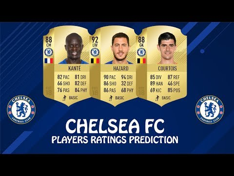FIFA 19 | CHELSEA FC PLAYERS RATINGS PREDICTION | w/ Hazard, Kante & Courtois