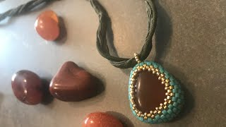 The best beaded bezel for odd shaped stones