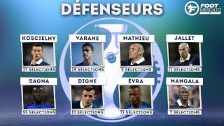 Équipe de France : Deschamps dévoile sa liste des 23 pour l'Euro 2016 !