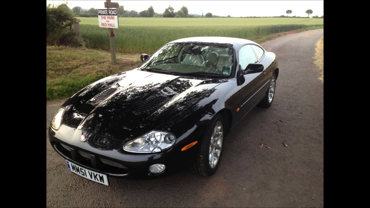 jaguar xkr x100 2001 4 0 supercharged coupe for sale youtube. Black Bedroom Furniture Sets. Home Design Ideas