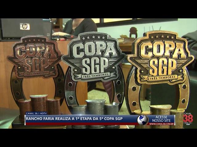 RANCHO FARIA REALIZA 1ª ETAPA DA COPA SGP