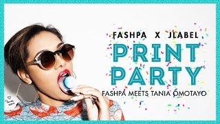 Tania Omotayo: Behind-the-Scenes Print-Party Lookbook   Fashpa.com