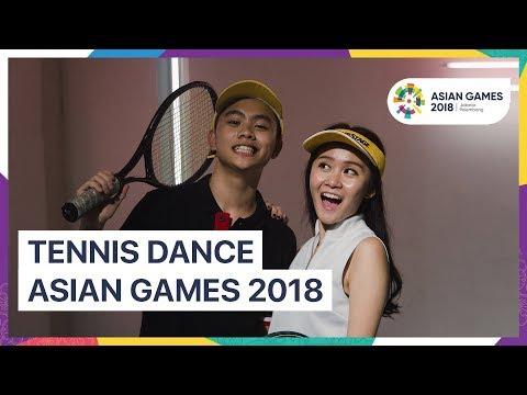 TENNIS TEAM - ASIAN GAMES 2018 UNOFFICIAL DANCE VIDEO #asiangames2018
