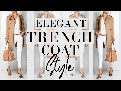Look Effortlessly STYLISH In A Trench Coat | Fashion Over 40